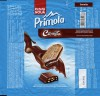 Primola, milk chocolate with cocoa filling and cremita biscuits, 96g, 01.04.2013, Kandia Dulce S.A, Bucharest, Romania