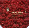 Malina, milk chocolate falvoured with raspberry, 100g, 1960, industrijsko Poljoprivredni kombinat, Kandit, Osijek, Croatia, (made in Yugoslavia)