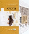 Cachet, milk chocolate with sea salt and caramel flavoured, 40g, 20.11.2015, Kims chocolates, Tienen, Belgium
