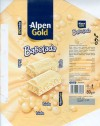 Alpen Gold Babolada, aerated white chocolate, 80g, 30.04.2008, Kraft Foods Polska S.A, Jankowice, Tarnowo Podgorne, Poland