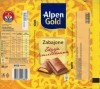 Alpen Gold, milk chocolate with cream filling, 100g, 22.05.2008, Kraft Foods Polska S.A, Jankowice, Tarnowo Podgorne, Poland