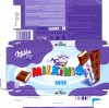 Milkinis, milk chocolate with milk cream filling, 87,5g, 18.04.2012, Kraft Foods Polska S.A, Warszawa, Poland