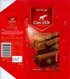 Cote dOr Intense Melk, milk chocolate, 75g, 03.05.2006, Kraft Foods Belgium, Belgium