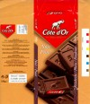 Plain chocolate, 100g, 02.09.2000, Kraft Foods Belgium S.A., Halle, Belgium
