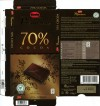 Marabou, 70 % cocoa, extra fine dark chocolate, 100g, 07.02.2010, Kraft Foods, Made in Belgium