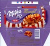 Milka, Alpine milk chocolate with apple, cinnamon and almond pieces, 100g, 01.09.2005, Kraft Foods Romania, Brasov, Romania