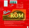 Poiana, milk chocolate caramel filling with rum, 30g, 19.04.2005, Kraft Foods Romania, Brasov, Romania