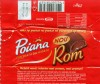 Poiana, milk chocolate filled with rum flavoured cream, 29g, 25.04.2007, Kraft Foods Romania, Brasov, Romania
