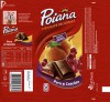 Poiana, milk chocolate with red currants and pears filling, 100g, 27.12.2012, Kraft Foods Romania S.A, Bucuresti, Romania