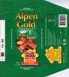 Alpen Gold, milk chocolate with hazelnuts, 100g, 04.09.2003, Kraft Foods Russia, Pokrov, Russia