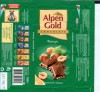 Alpen Gold, milk chocolate with hazelnuts, 100g, 10.04.2008, Kraft Foods Russia, Pokrov, Russia