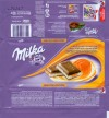 Milka, milk chocolate filled with caramel flavoured cream, 90g, 15.01.2009, Kraft Foods Russia, Pokrov, Russia