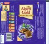 Alpen Gold, milk chocolate with blueberry and yoghurt filling, 100g, 27.02.2009, Kraft Foods Russia, Pokrov, Russia