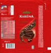 Karuna, aerated dark chocolate, 80g, 22.12.2011, Kraft Foods Lietuva, Kaunas, Lithuania