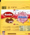 Marabou Polka, milk chocolate with mint caramel pieces, 200g, 01.01.2010, Kraft Foods Sverige, Angered, Sweden