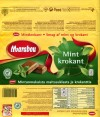 Marabou, Mint krokant, mint-flavored milk chocolate and crunchy, 200g, 02.12.2010, Kraft Foods Sverige, Angered, Sweden