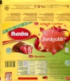 Marabou, Jordgubb, milk chocolate with pieces of freeze-dried strawberries, 185g, 25.12.2011, Kraft Foods Sverige, Sweden