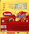 Marabou, milk chocolate Daim, 200g, 19.09.2012, Kraft Foods Sverige, Sweden