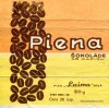 Milk chocolate with coffee, 20g, about 1960, Laima, Riga, Latvia