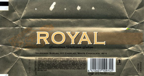 Royal, white chocolate, 42g, 30.07.2004, 