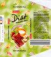 Diat, milk chocolate with hazelnuts sugar free, 100g, 13.08.2006, Lidl Stiftung&Co.KG, D-74167 Neckarsulm, Germany