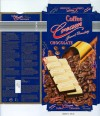 A layer of coffee flavoured chocolate topped with a layer of white chocolate, 200g, 31.03.2007, Lidl Stiftung&Co.KG, D-74167 Neckarsulm, Germany