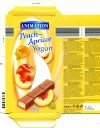 Animation, milk chocolate with a peach and apricot flavour yogurt filling, 200g, 04.02.2011, Lidl Stiftung&Co.KG, D-74167 Neckarsulm, Germany
