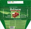 Bellarom, milk chocolate with hazelnuts, 100g, 04.1998, Lidl Stiftung&Co.KG, D-74167 Neckarsulm, Germany
