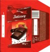 Black magic, Delicacy, dark compound chocolate, 100g, 21.01.2012, Lidl Stiftung&Co.KG, Neckarsulm, Germany