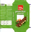 FinCarre, milk chocolate with whole nuts, 100g, 23.01.2012, Lidl Stiftung&Co.KG, Neckarsulm, Germany