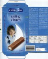 Animation, filled milk chocolate with a milk creme filling, 200g, 24.03.2013, Lidl Stiftung&Co.KG, Neckarsulm, Germany