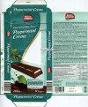Mister Choc, filled dark chocolate fingers with a layer of peppermint and chocolate flavour creme with cocoa nibs, topped with a layer of peppermint flavour milk creme, 200g, 18.06.2013, Lidl Stiftung&Co.KG, Neckarsulm, Germany