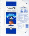 Excellence,extra creamy milk chocolate, 100g, 01.2005, Lindt & Sprungli, Switzerland