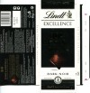 Lindt Excellence, extra fine dark chocolate, 50g, 02.2012, Lindt & Sprungli AG, Switzerland