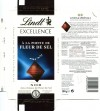 Lindt Excellence, extra fine chocolate with salt, 100g, 11.2011, Lindt & Sprungli AG, Kilchberg, Switzerland