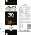 Lindt Excellence, dark chocolate, 100g, 24.06.2013, Lindt & Sprungli AG, Kilchberg, Switzerland
