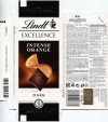 Fine dark chocolate with pieces of orange and almond slivers, 100g, 07.10.2015, Lindt & Sprungli AG, Kilchberg, Switzerland