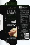 Hello my name is Apple Crumble, 100g, 05.2013, Lindt & Sprungli, Aachen, Germany