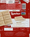 White chocolate with milk cream filling and crispy wafer, 87g, 08.2014, Loacker, South Tyrol, Italy