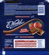 Milk chocolate with strawberry filling, 100g, 01.09.2016, Lotte Wedel sp.z o.o., Warszawa, Poland