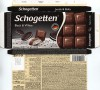 Schogetten, filled chocolate with vanilla cream filling and cocoa biscuit pieces, 100g, 08.12.2015, Ludwig Schocolade GmbH&Co.KG, Saarlouis, Germany