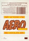 Aero, aerated milk chocolate, about 1970, Rowentree Mackintosh plc York, England