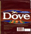 Dove , milk chocolate with hazelnuts and raisins ,100g,  02.07.1993