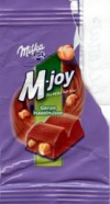 M-joy, milk chocolate with hazelnuts, 15g, 23.08.2003, Kraft Foods Germany, Bremen, Germany