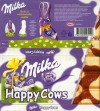 Milka, milk and white  chocolate, 100g, Kraft Foods Manufacturing GmbH & Co.KG, Lorrach, Germany