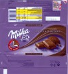 Milka, milk chocolate with Alpine milk and whipped cocoa filling 45%, 100g, 04.09.2008, Kraft Foods Manufacturing GmbH & Co.KG, Lorrach, Germany