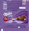 Milka, Alpine milk chocolate with raisins and hazelnuts, 100g, 03.07.2008, Kraft Foods Manufacturing GmbH & Co.KG, Lorrach, Germany