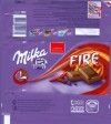 Milka, milk chocolate with chocolate cream and chili, 100g, 20.04.2008, Kraft Foods Manufacturing GmbH & Co.KG, Bremen, Germany