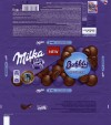 Milka, milk chocolate with air chocolate pieces, 100g, 21.12.2013, Kraft Foods Germany, Mondelez International, Lorrach, Germany