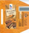 Leader price, milk chocolate toffee filling, 100g, 09.2005, Millano, Przezmierowo, Poland